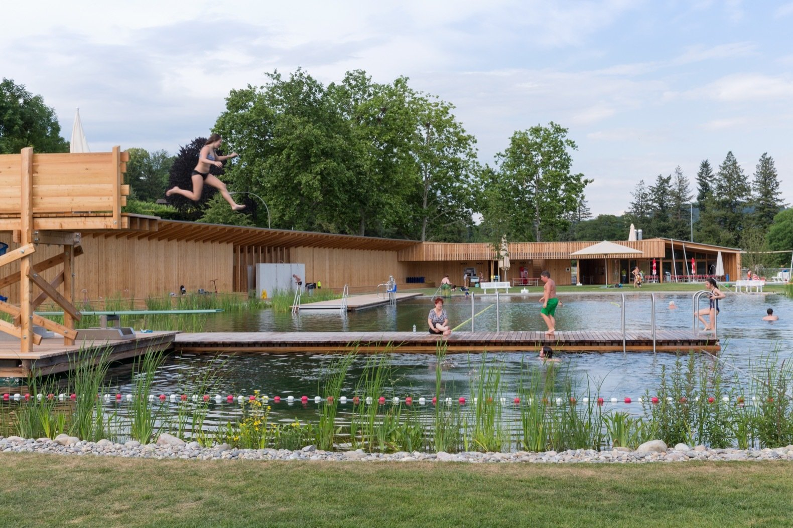 7 Natural Swimming Pools That Are Completely Chlorine-Free - Dwell