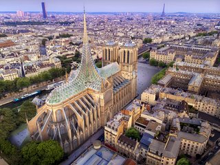 Notre Dame Cathedral Must be Rebuilt Exactly As it Was, Rules the French Senate