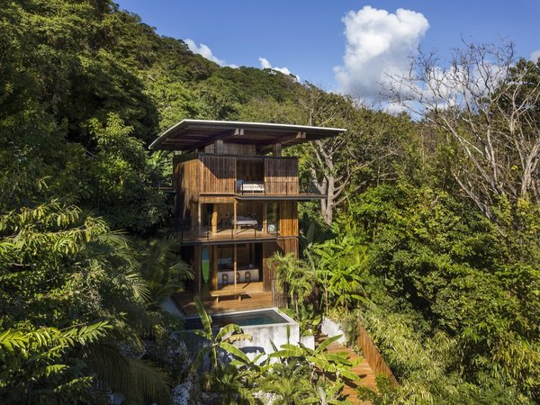 An Olson Kundig Tree House Peeks Over the Treetops in Costa Rica