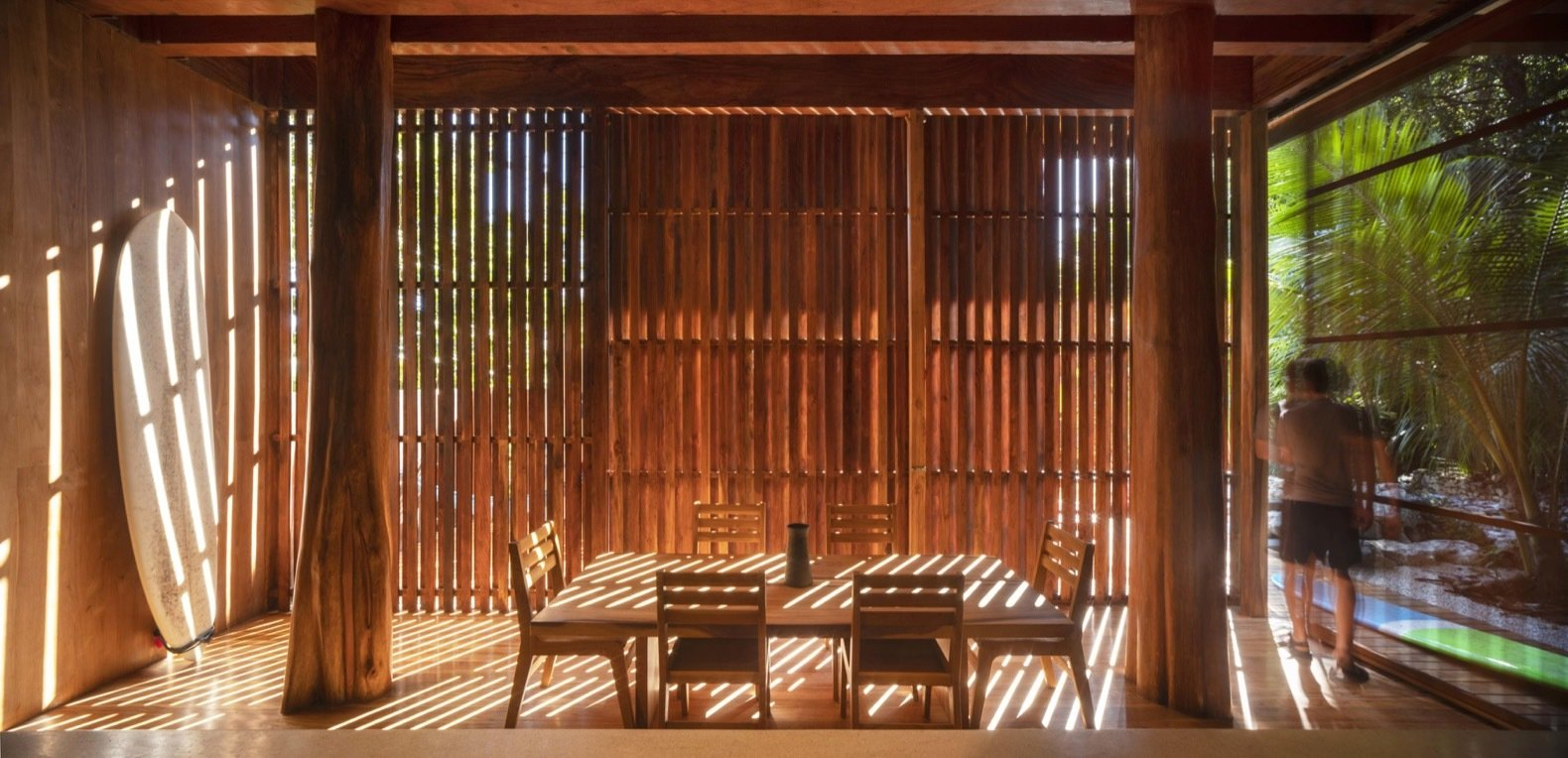 Costa Rica Tree House dining room