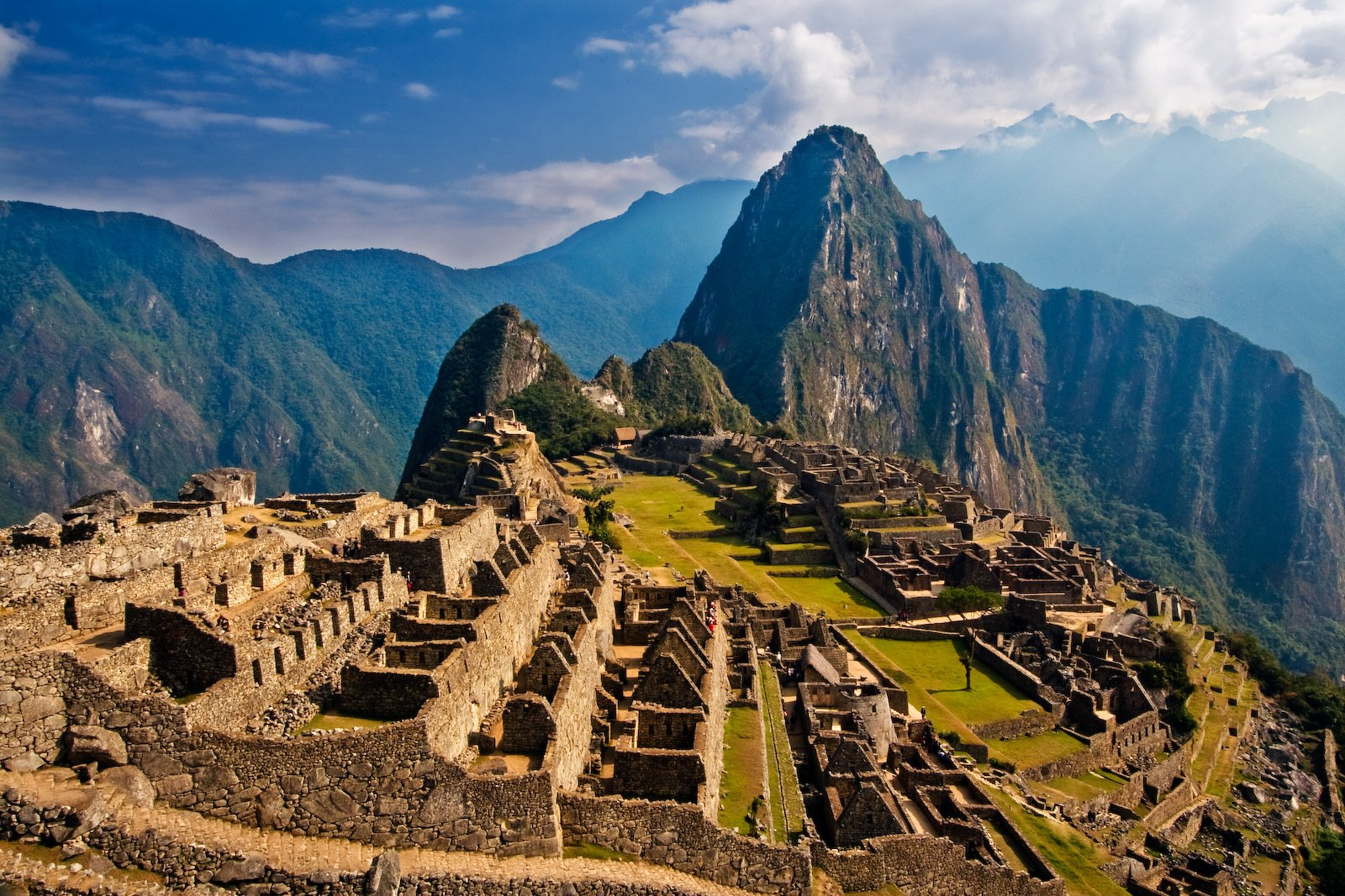 Visitor numbers to Machu Picchu shot up after the Incan site was voted one of the Seven Wonders of the World.