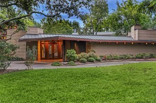 Houston's Only Frank Lloyd Wright Home Just Hit the Market For $2.85M