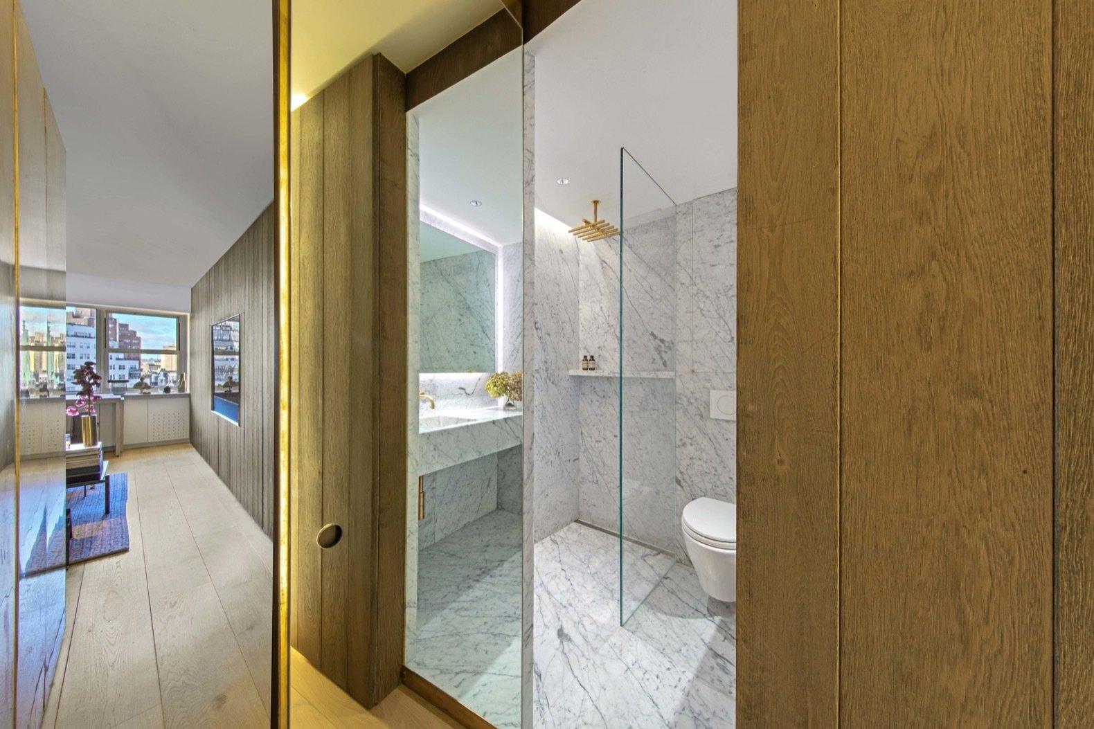 Jewel Box apartment bathroom