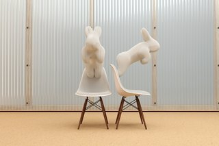 Labrooy also digitally remixes other objects, including the Eames Shell Chair, in his Garden of Eames project.