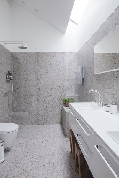 Best 10 Modern Bathroom Terrazzo Floors Enclosed Showers