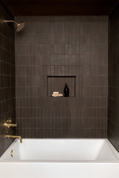 Best 60 Modern Bathroom Ceramic Tile Walls Design Photos And Ideas