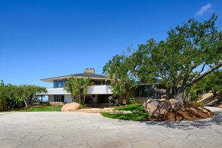 George Michael's Frank Lloyd Wright–Inspired Former Estate Hits the Market For $6M