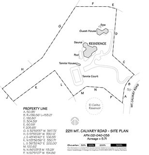 2211 Mt. Calvary Rd site plan