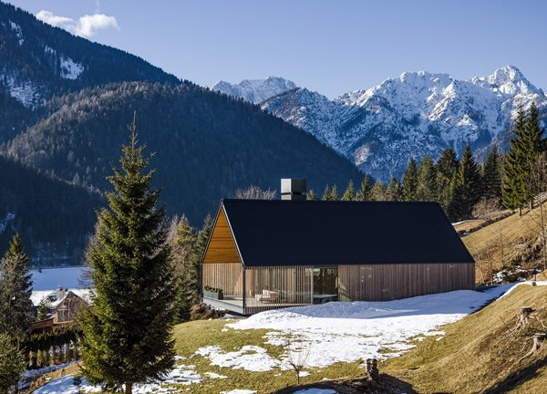An Alpine Home in Northern Italy Shows Off Picture-Perfect Valley Views