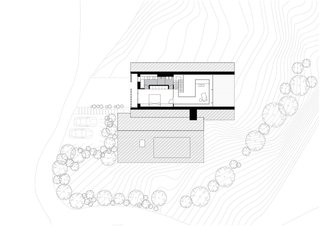 Z House upper floor plan