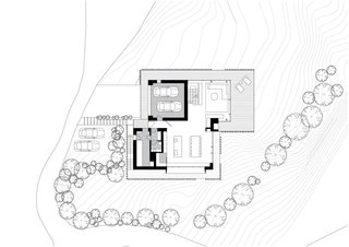 Z House ground floor plan