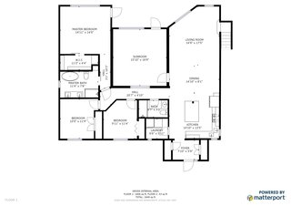 Recycled House floor plan