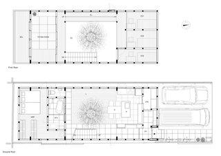 House in Kyoto floor plans