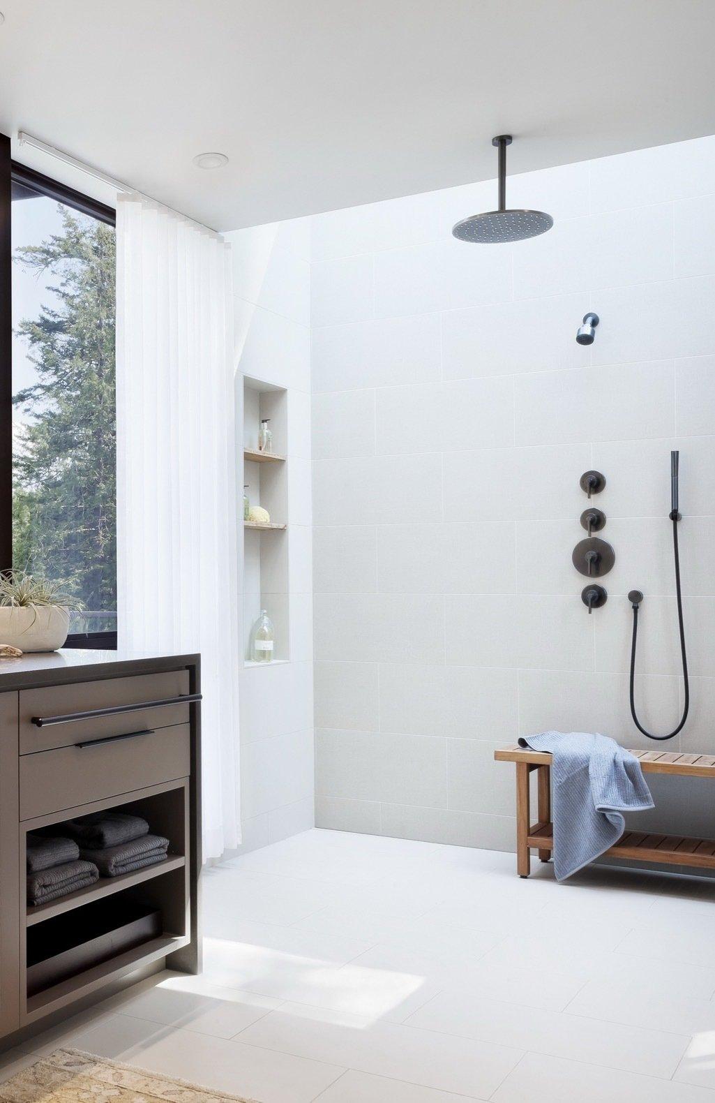 Orcas Island Retreat DeForest Architects bathroom