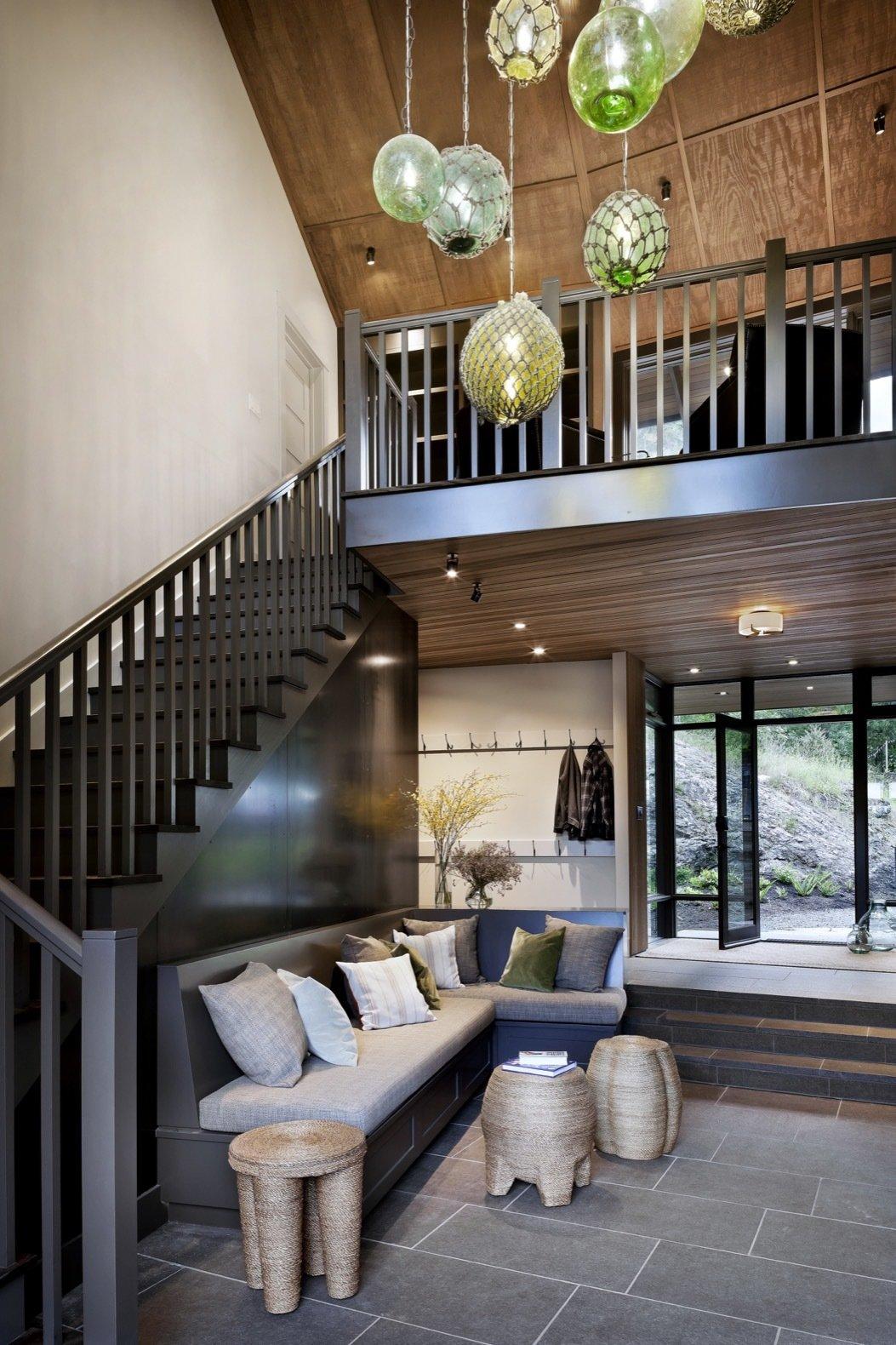 Orcas Island Retreat DeForest Architects hallway