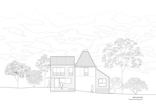 House for Hermes north elevation