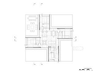 House in El Peumo floor plan
