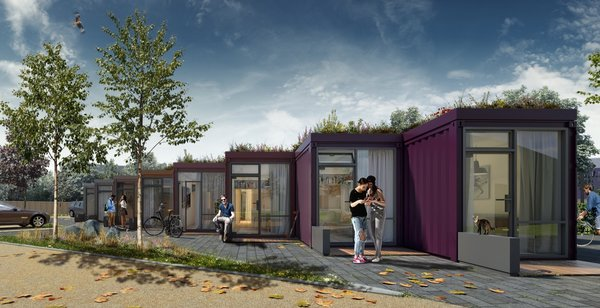 Affordable Shipping Container Tiny Homes Get the Green Light in the UK
