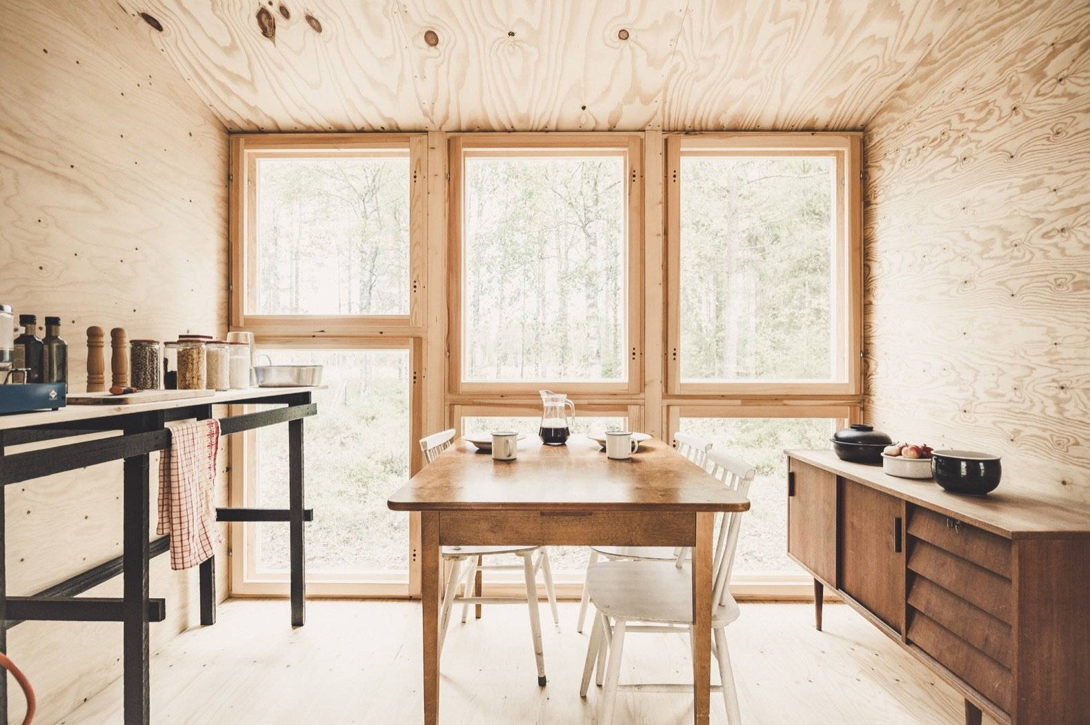 Small But Fine Cabin dining room