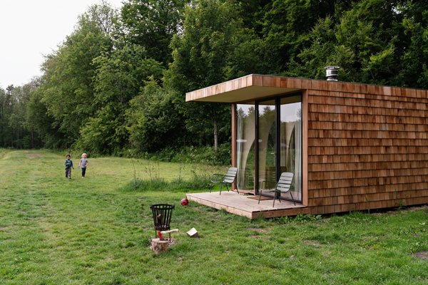 Commune With Nature in This Enchanting Timber Cabin in Holland