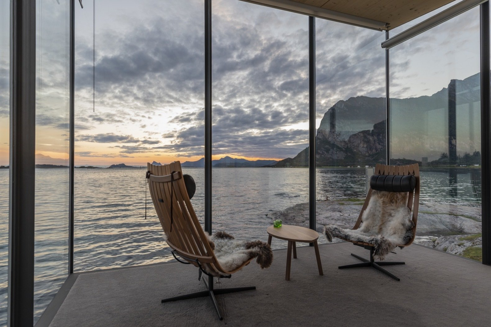 Sea Cabins by Snorre Stinessen