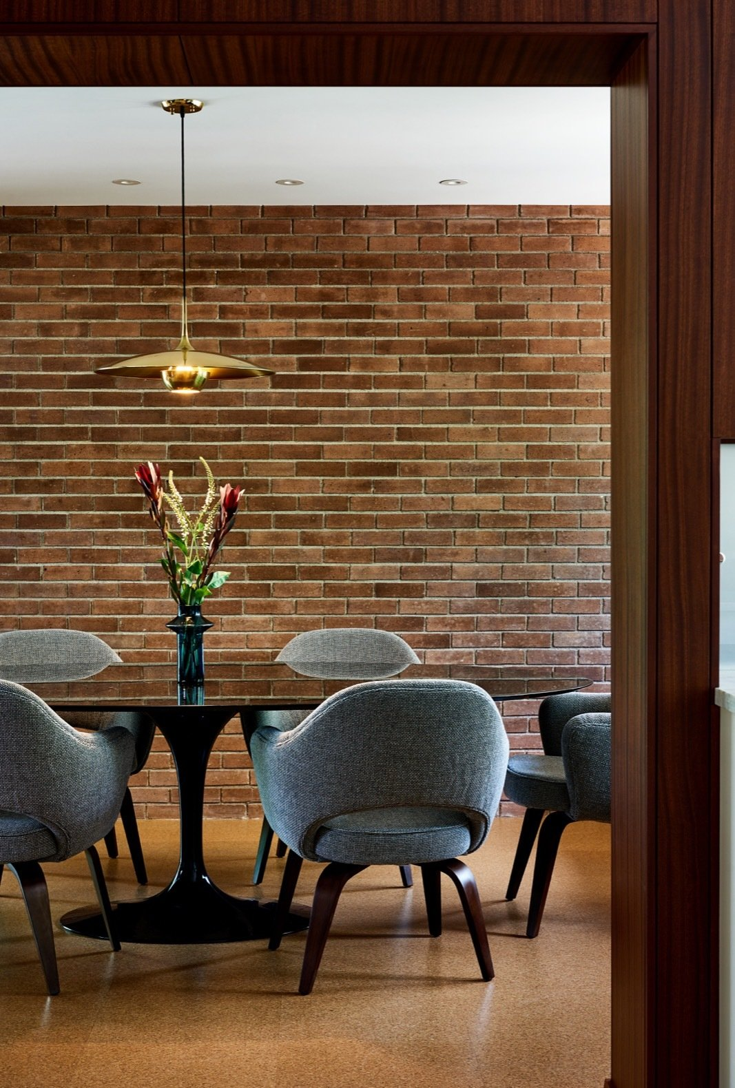 Balcones Residence by Clayton & Little Architects dining room