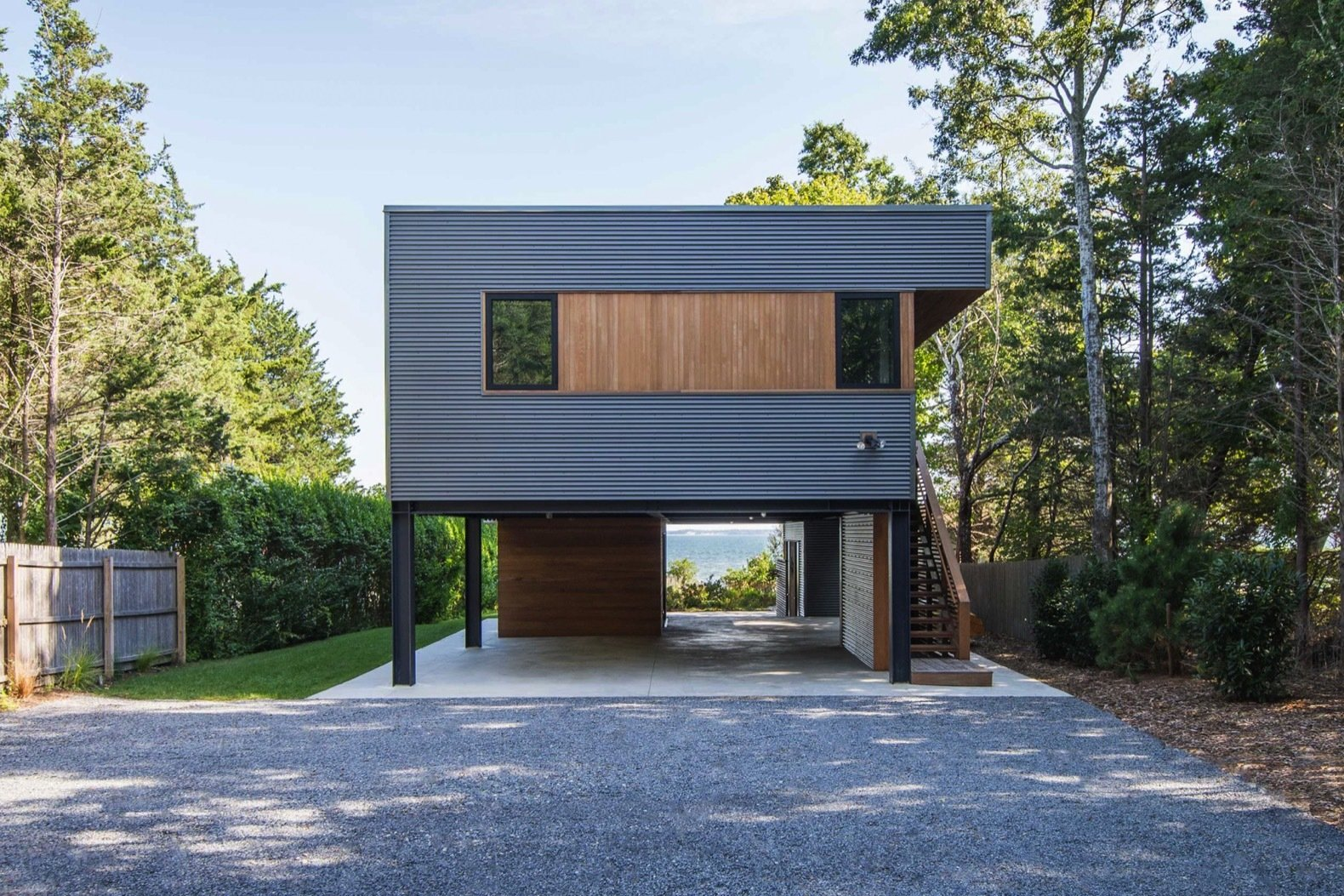 North Fork Bay House exterior