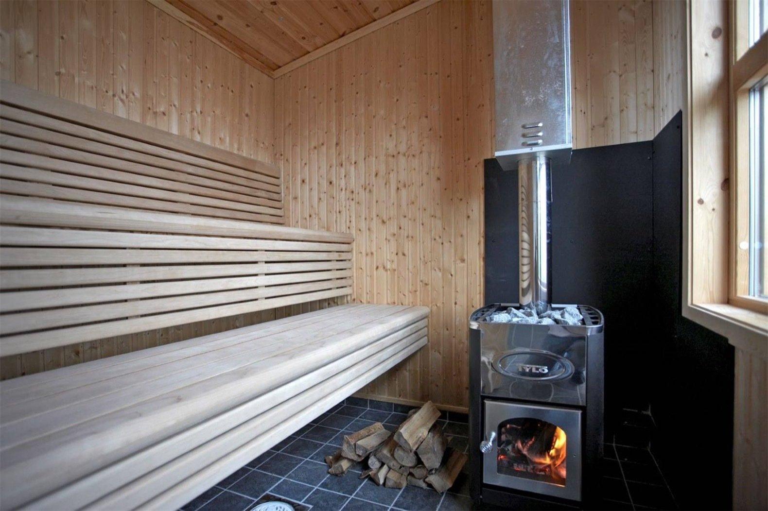 Gåsharsskäret island sauna