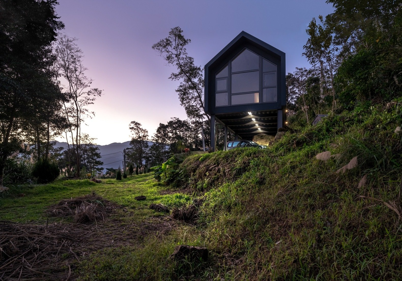 DH House gabled prefab exterior