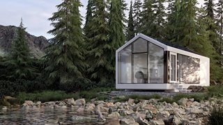 This 3D-Printed Prefab Home Lets You Live Off-Grid Almost Anywhere