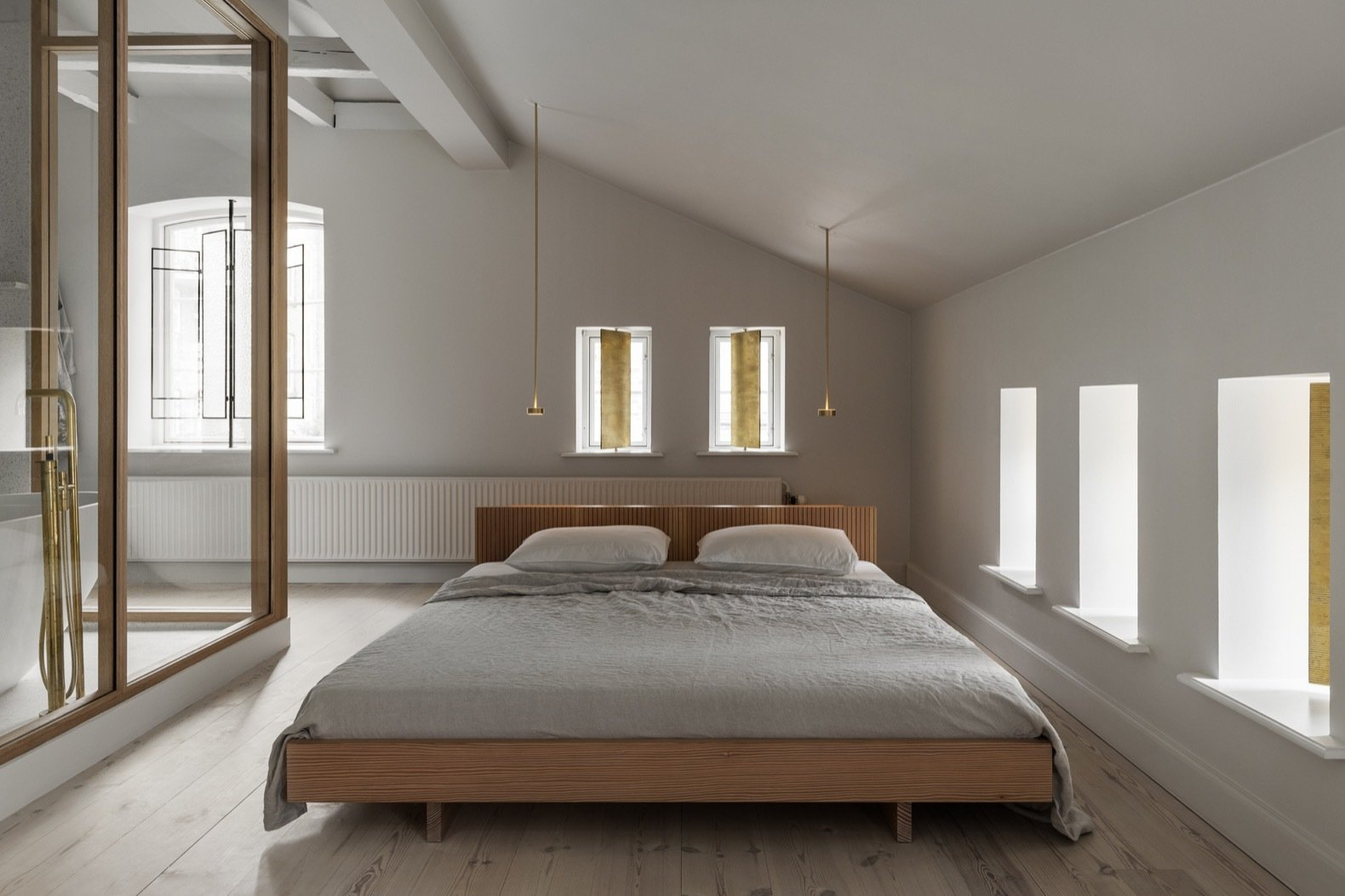 Photo 7 Of 14 In A Copenhagen Horse Stable Is Transformed Into A Sophisticated Scandinavian Home Dwell