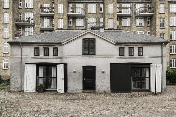 A Copenhagen Horse Stable Is Transformed Into a Sophisticated Scandinavian Home