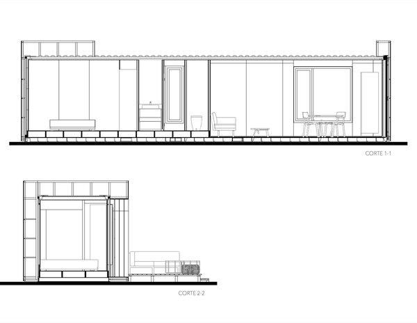 VMD one-bedroom model section