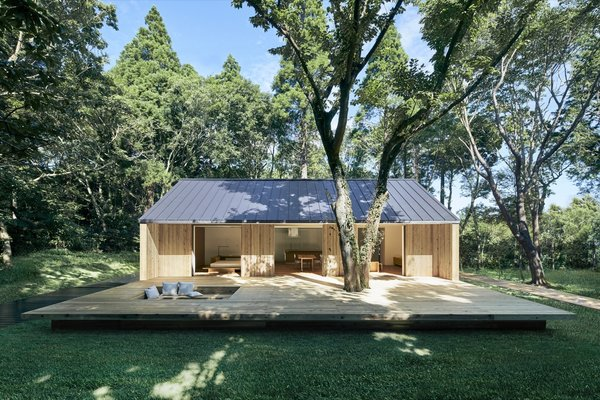 "The Japanese ""no-brand"" masters of minimalism unveil the first single-story design in their line of prefab homes."