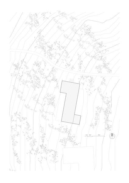 Stokkøya Cabin site plan