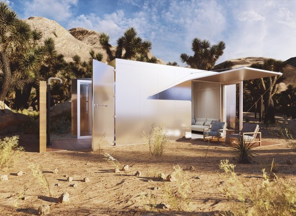 Buhaus Is Launching Luxe Prefab Homes Designed for Off-Grid Living