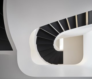 A Mind-Bending Staircase Brings This Toronto Townhouse to the Next Level