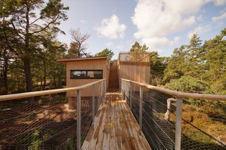 This Idyllic Swedish Summerhouse Can Only Be Reached by Boat