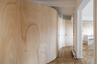 """""""I think these curves awaken one's curiosity and make them question the space—and by extension, other matters of life,"""" says Toledano. """"The clients are very sensitive to art and design, and I wanted them to feel like they were living in an art piece—one that they can make evolve through time and shape according to their way of life."""""""