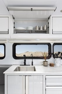 New to the 2020 model, the all-aluminum cabinetry with integrated handles is specially designed to handle a mobile environment.