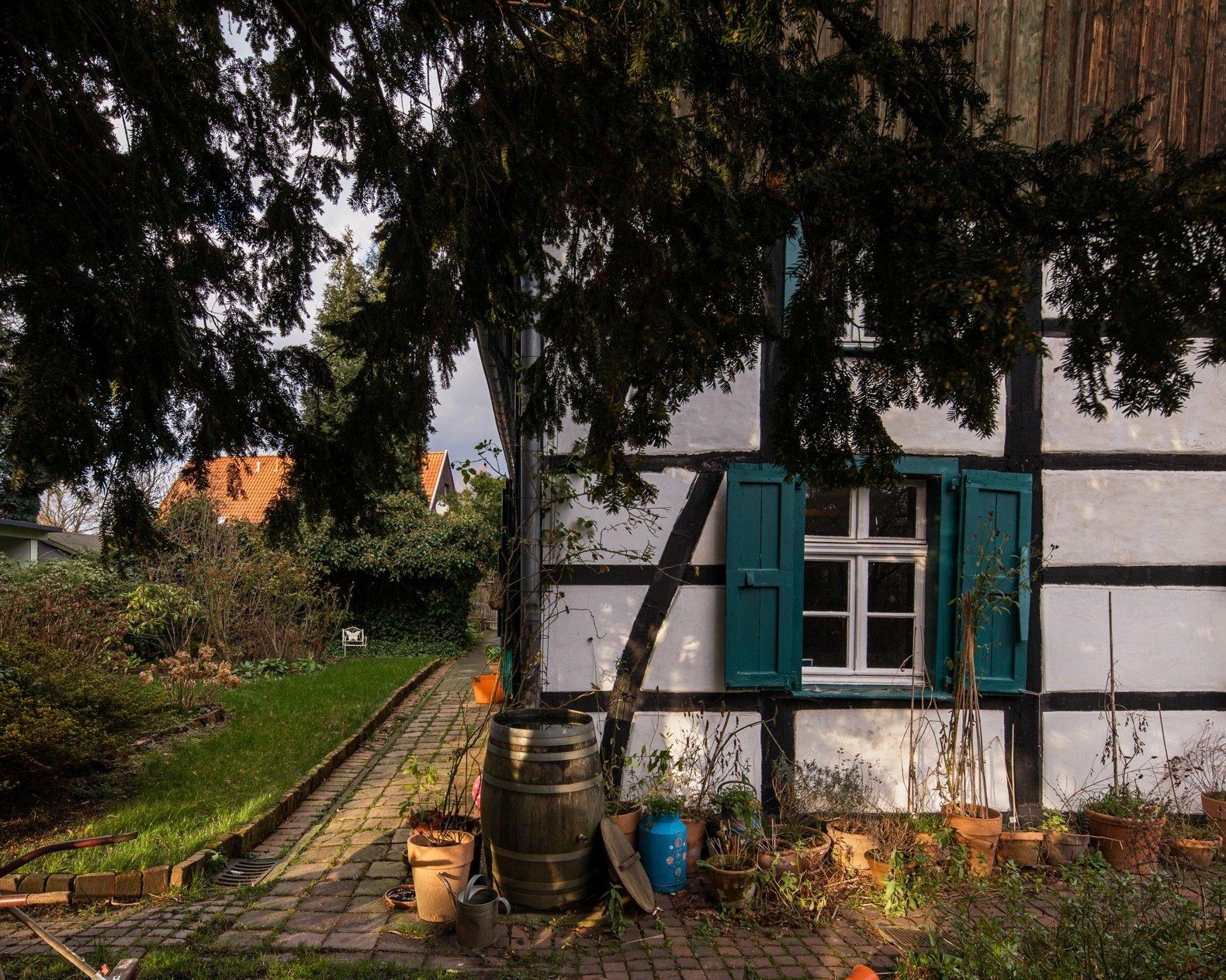 Dortmannhof exterior garden