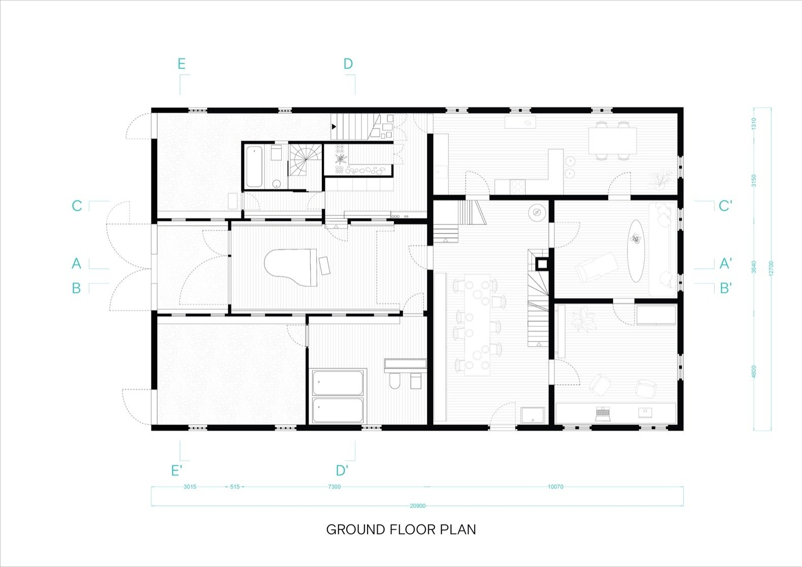 Dortmannhof ground-floor plan