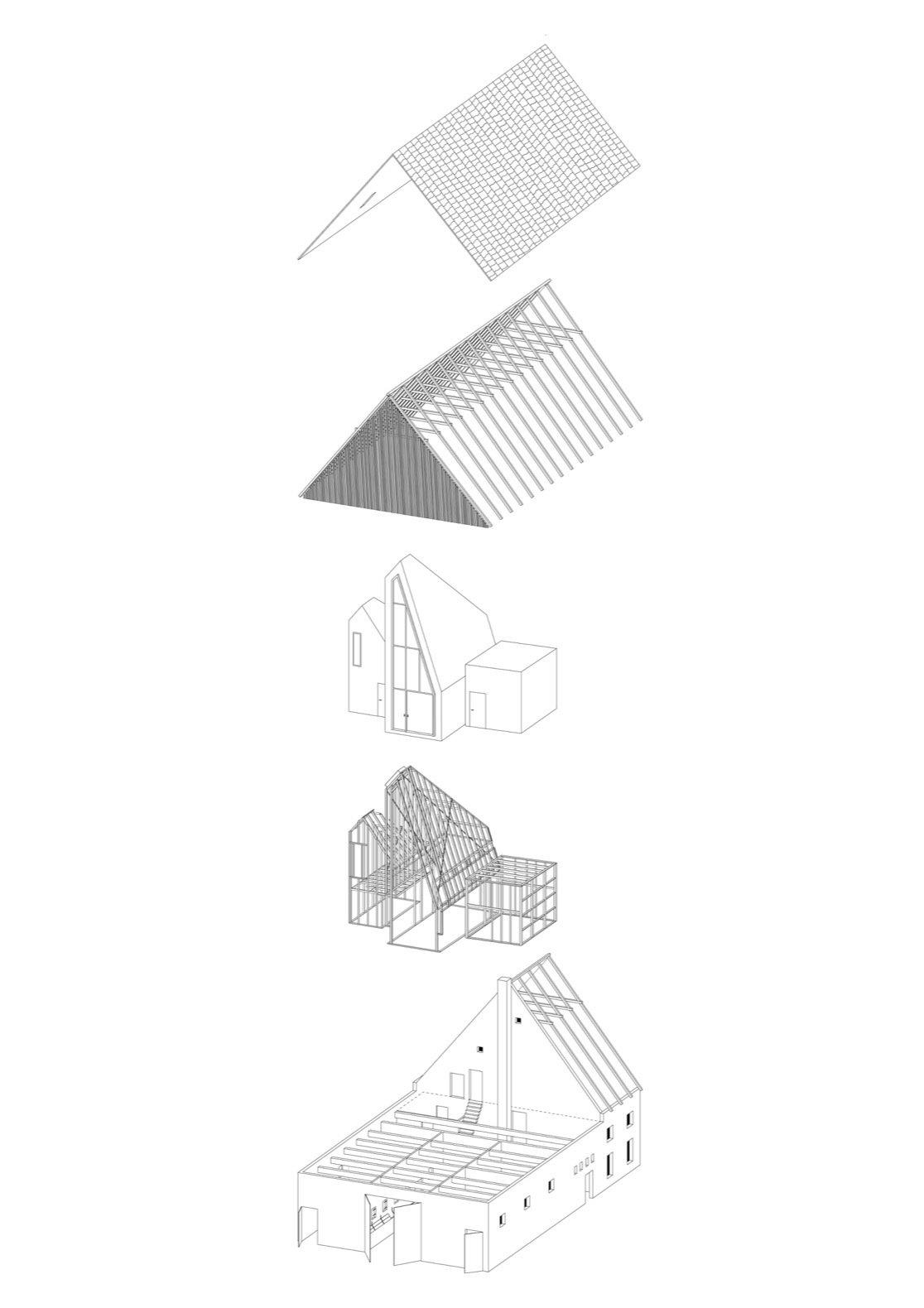 Dortmannhof exploded axon diagram