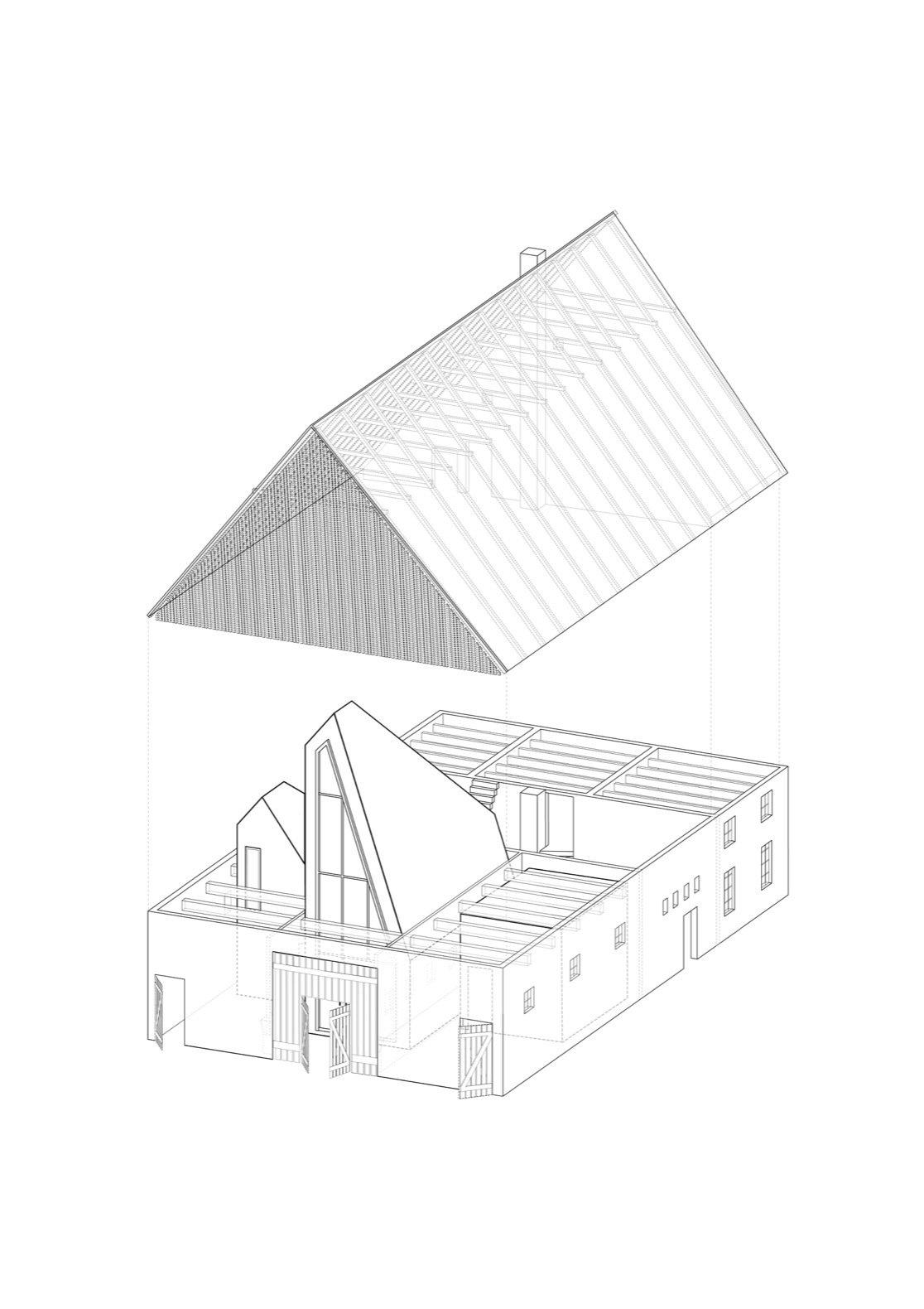 Dortmannhof axon diagram