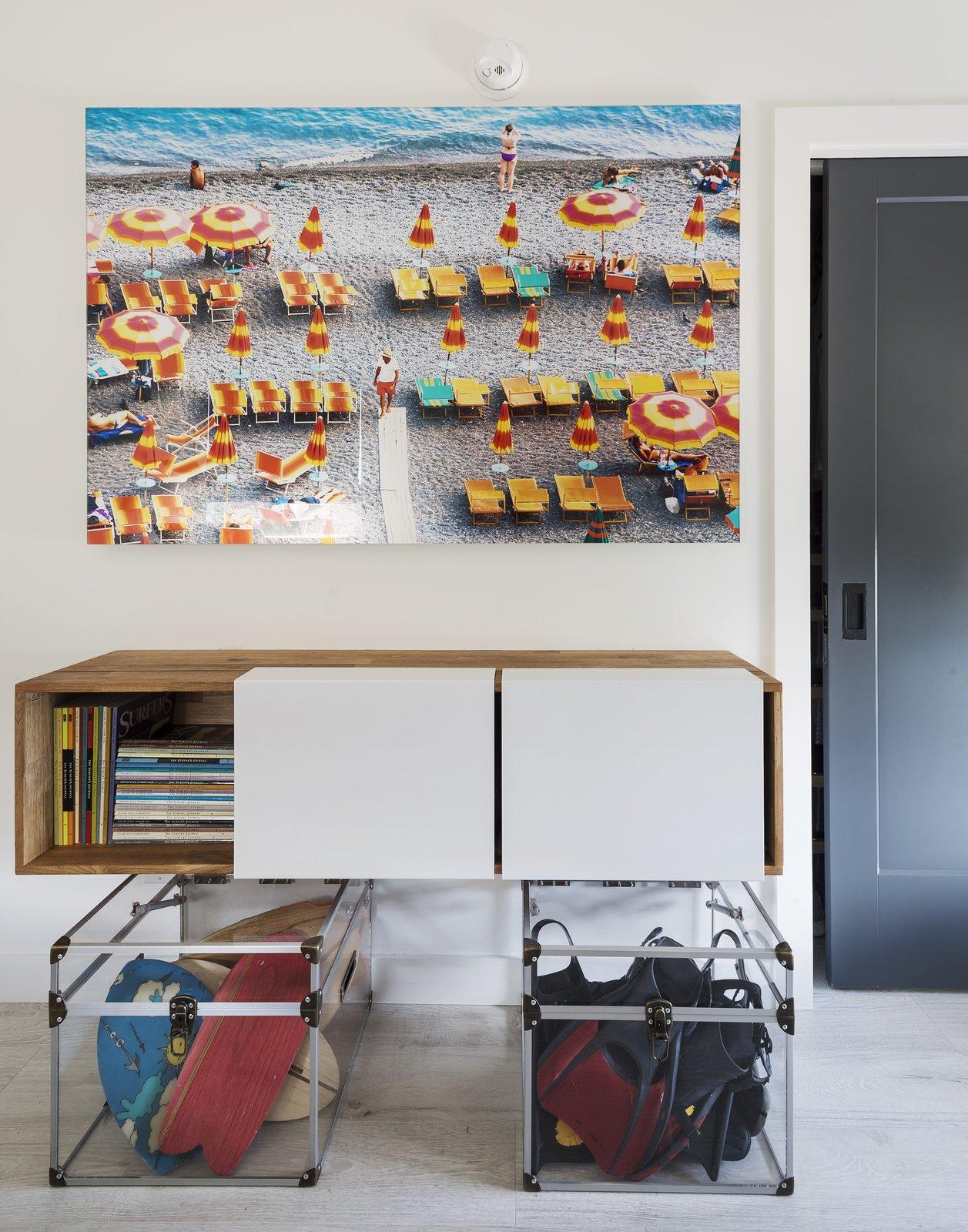 Montauk Surf Shack living area