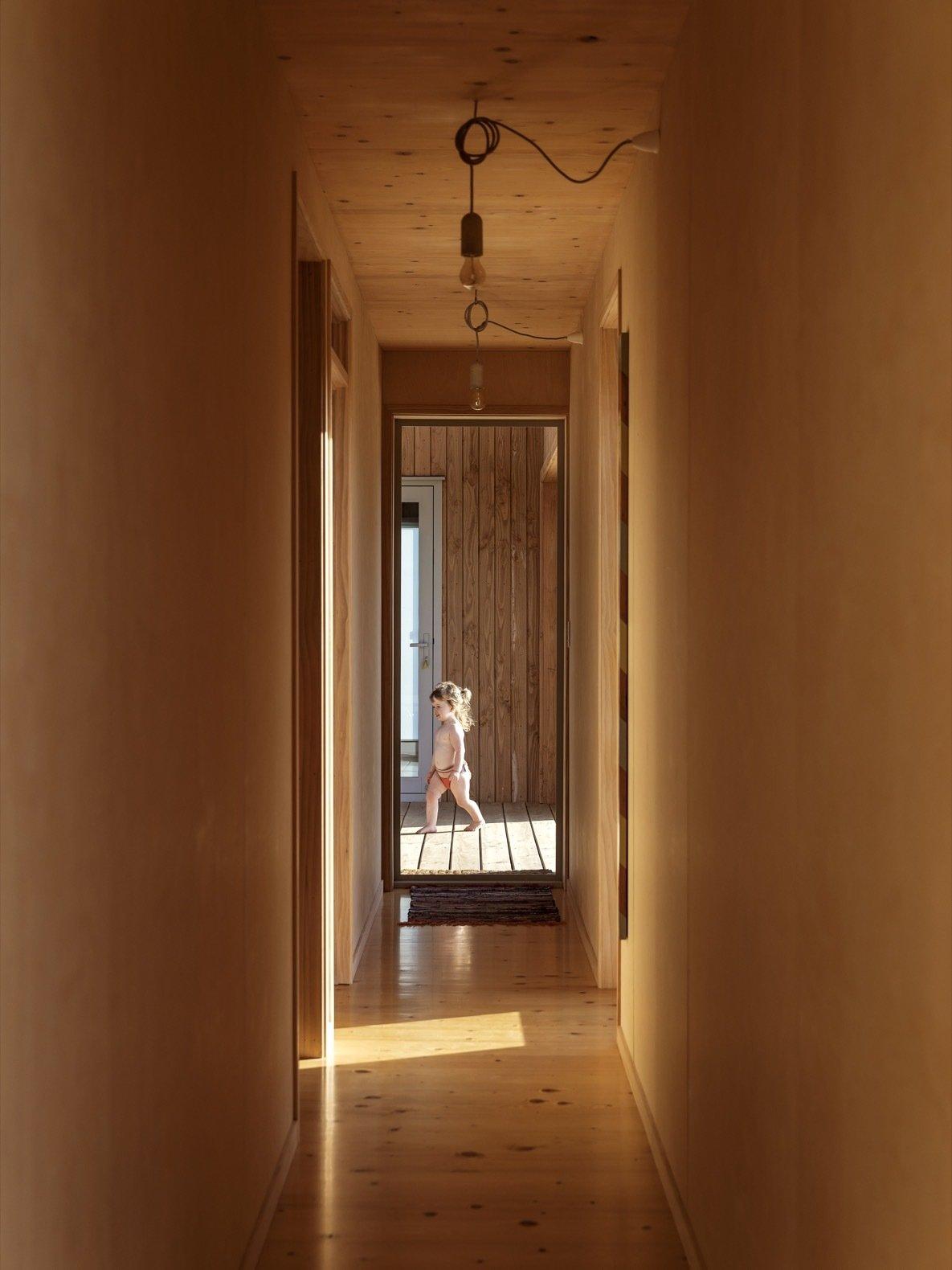 Karangahake House hallway