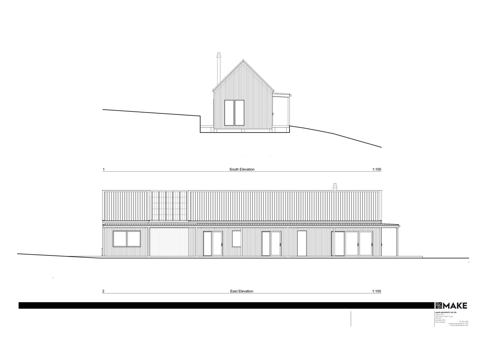 Karangahake House elevations