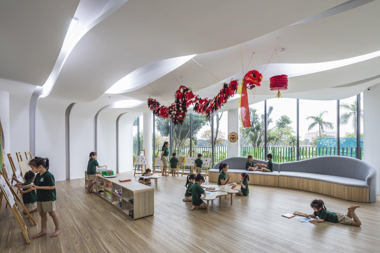 Eco Kindi classroom