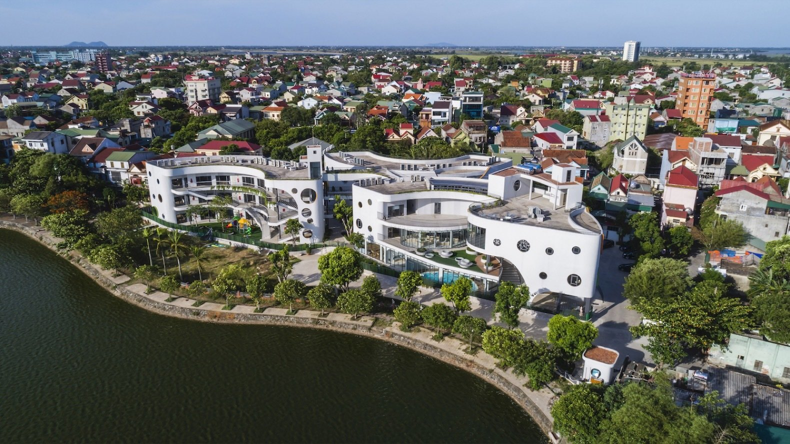 Eco Kindi aerial view