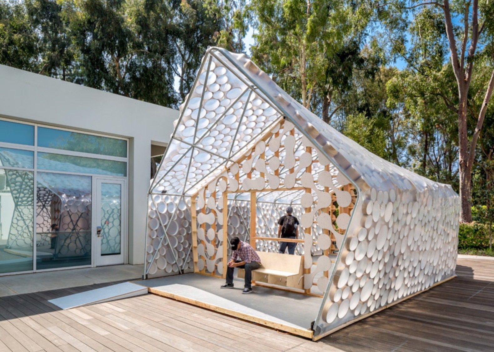 Backyard BI(h)OME prefab shelter exterior